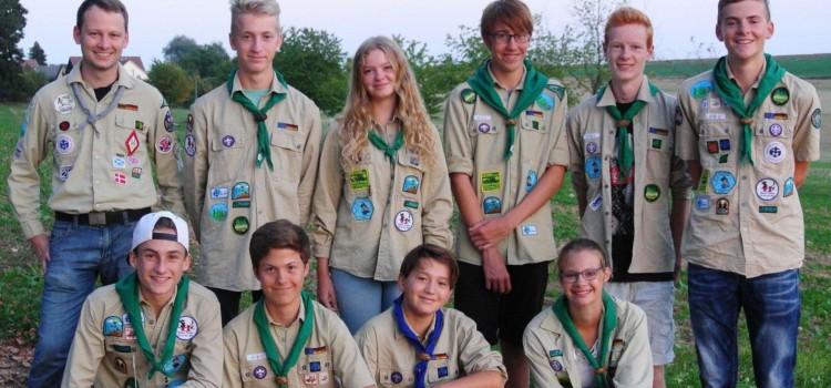 Teilnehmer des World Scout Jamborees in den USA erhalten Förderung